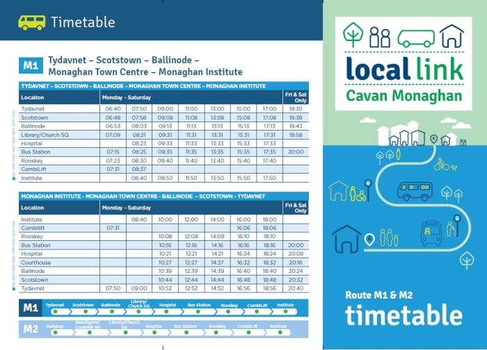 local link service ballybay tydavnet